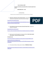 lecturas Curso Básico 2011-2012