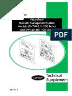 NatFresh Hum. Manag. System Models 69NT40-511-300&489-100