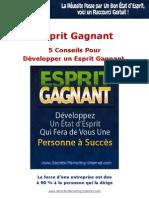 5 Conseils Pour Developper Un Esprit Gagnant