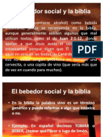 El Bebedor Social y La Biblia