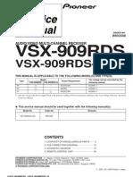 Pioneer-VSX909RDS Service Manual
