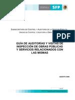 GUÍA DE AUDITORÍAS Y VISITAS DE INSPECCIÓN DE OBRAS PÚBLICAS Y SERVICIOS RELACIONADOS CON LAS MISMAS AGOSTO 2009