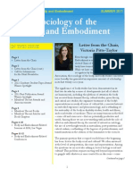 Summer 2011 Newsletter Body Embodiment
