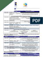 Agenda Cátedra Latinoamericana y Caribeña de Integración 2011