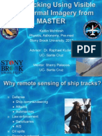 Ship Tracking Using Visible and Thermal Imagery from MASTER