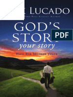 God's Story Your Story by Max Lucado, Excerpt