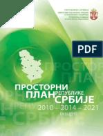 Nacrt Prostornog Plana Srbije 2010-2021