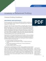 Academy of Behaviorial Profiling
