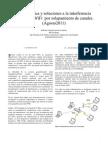 Problemática y soluciones a la interferencia entre redes WiFi  por solapamiento de canales