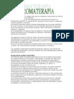 Aromaterapia - ESENCIAS