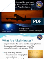 Photochemical Properties of Alkyl Nitrates in the Los Angeles Basin