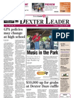 Dexter Leader Front Page August 4