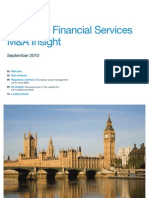 European FS MA Insight Sept 2010