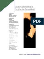 Táctica y Estrategia - Benedetti