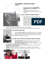 Psicologia Do to - Piaget e Vigotski