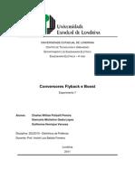 Experimento 7 - Conversor Flyback e Boost