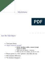 SQL Alchemy Advanced Python Nbn 2007