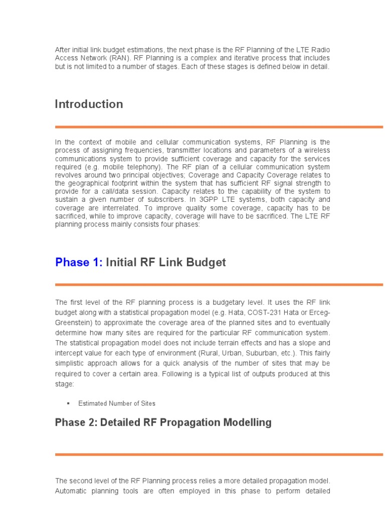 Presentation Notes | Radio Frequency | Radio Propagation