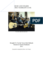 Music and Judaism, A Purely Hashkafic Look