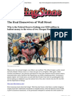 The Real Housewives of Wall Street (20110411) - Matt Taibbi (Rolling Stone)
