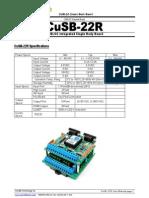 CuSB22R_UserManual