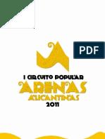 CIRCUITO ARENAS ALICANTINAS 2011 - CROSS DEL AMANECER