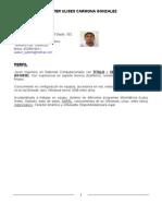 Curriculum Vitae - Walter Ulises Carmona Gonzalez