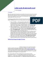 Membuat Nilai Acak Di Microsoft Excel