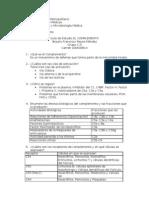 Complemento - Quimiocinas - Complejo Mayor de ad