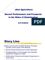 07 Indian Agriculture R P S Malik