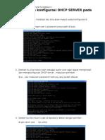 Installasi dan konfigurasi DHCP di debian 6