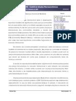 A crise e Balança Comercial Brasileira