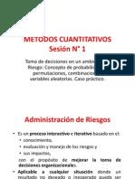Sesion 1 Metodos Cuantitativos