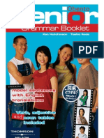 Obento Senior Grammar Booklet