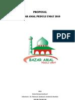 propsal bazar1