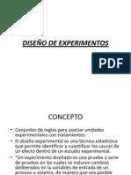 EXPO-DISEÑO DE EXPERIMENTOS