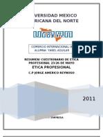 7. Resumen y rio Etica Profesional