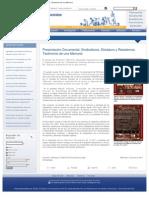 """Presentación Documental """"Sindicalismo, Dictadura y Resistencia"""" (FACSO, U. de Chile)"""