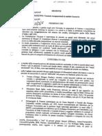 Mozione del Consiglio Provinciale di Roma
