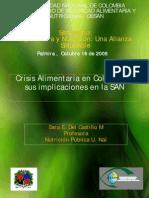 Crisis Aliment Aria en Colombia y Sus Implicaciones en La SAN_Sara Del Castillo
