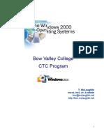 NT 2000 Server Manual