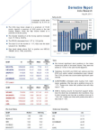 Derivatives Report 4th August 2011