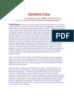 operation topac