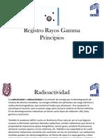 Registro Rayos Gamma Curso