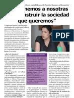 Entrevista Marusia López