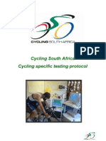 Cycling Test Protocol