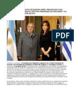 DECLARACION CONJUNTA, Argentina Uruguay