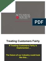Treat Customers Faily