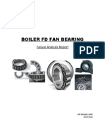 Boiler FD Fan, Bearing Failure Case Study