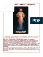 Divine Mercy Prayer Companion